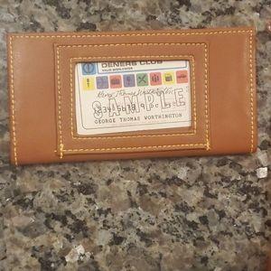 Dooney & Bourke Bags - Vtg Dooney & Bourke Wearable Wallet